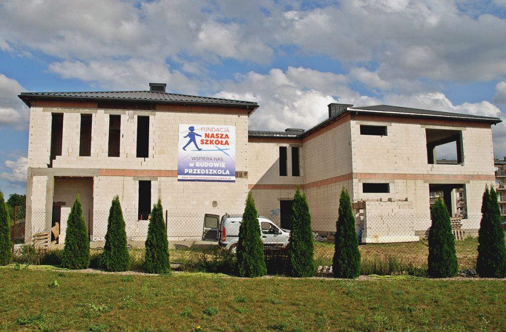Budowa Katolickiego Przedszkola