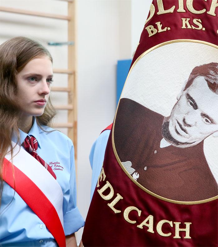 Katolicka Szkoła Podstawowa - Sztandar