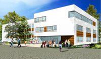 Wizualizacja rozbudowy szkoły