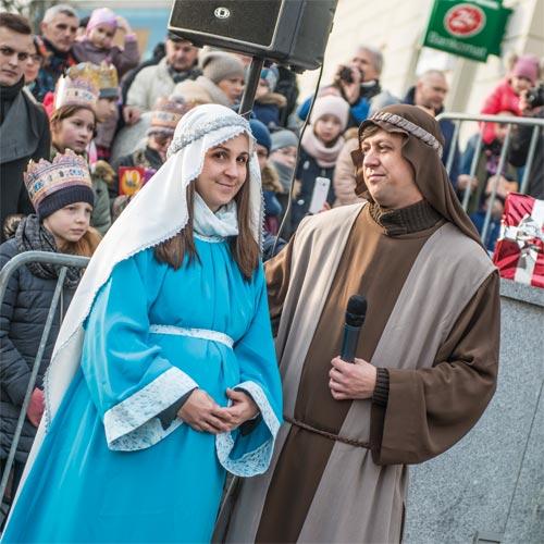 Wędrówka Józefa i Maryi
