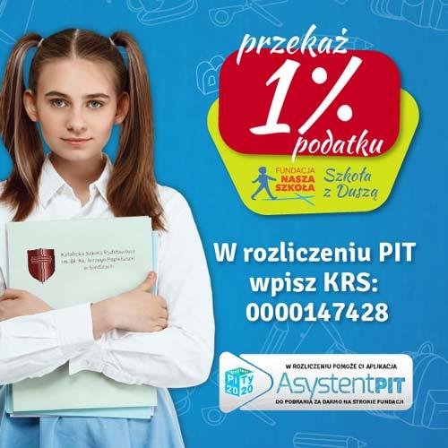 Kampania 1% Fundacja Nasza Szkoła