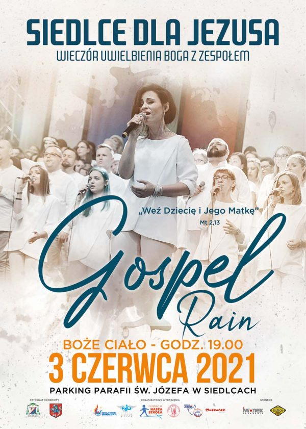 Siedlce dla Jezusa plakat 2021